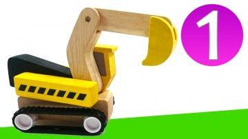 Развивающее видео для самых маленьких. Цифра 1. Игрушечные машинки на стройке http://video-kid.com/10799-razvivayuschee-video-dlja-samyh-malenkih-cifra-1-igrushechnye-mashinki-na-stroike.html  Развивающее видео для детей от 1 года. Давайте посмотрим на наши любимые игрушки и запомним, как пишется цифра 1. Нарисуем ее около каждого предмета: один самосвал Брио едет вдоль деревянной железной дороги, один человечек, один погрузчик на игрушечной стройке, один деревянный блок нужно положить в…