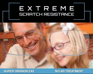 Save your eye glass lenses from annoying scratches with EX3 lens protection