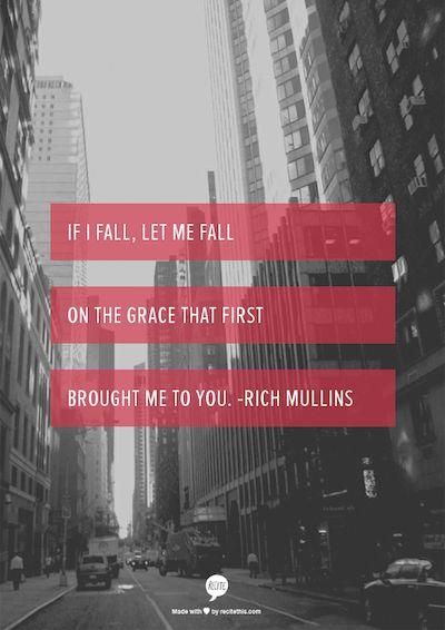If I fail.... - Rich Mullins