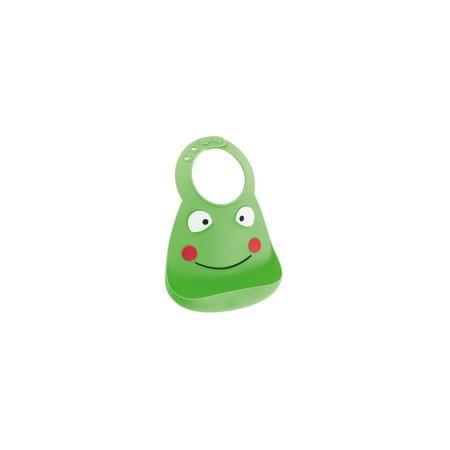 Make my day Нагрудник, Make my day, лягушка, Frog (jump to it)  — 1500р.  Нагрудник Make my day, лягушка, Frog (jump to it).  Характеристики: • изготовлен из качественного гипоаллергенного силикона • имеет удобный карман для крошек и кусочков пищи • не содержит фталаты, бисфенол-А и ПВХ • регулируемая застежка • легко моется и подходит для посудомоечной машины • высокая гибкость  • оригинальный дизайн • состав: 100% пищевой силикон • размер: 24х21 см • размер упаковки: 24,5x21x4,5 см • цвет…