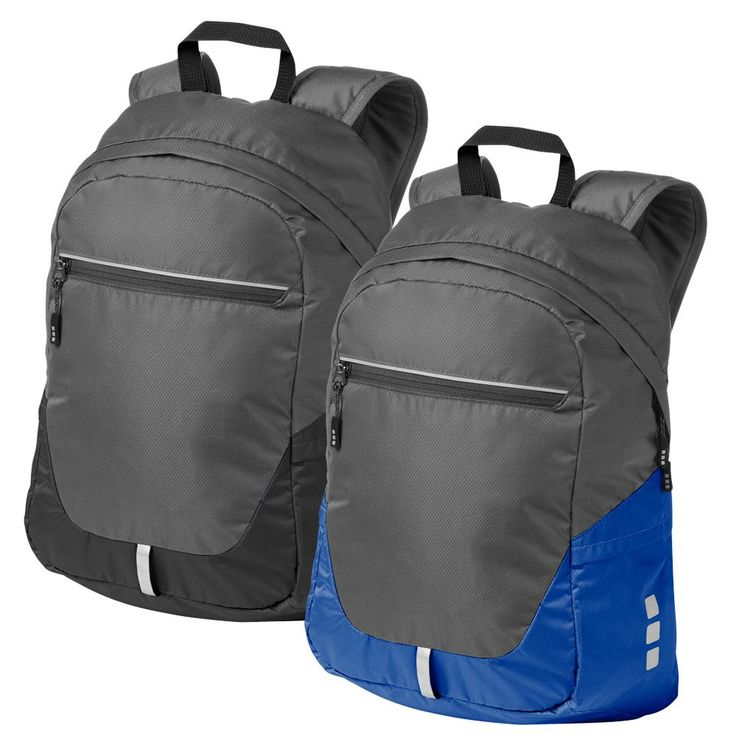 Elevate Revelstoke Lightweight Backpack  This exclusive design is made from PVC free nylon diamond ripstop material. This high-performance foldable backpack feature technical materials, YKK zippers, comfortable adjustable shoulder straps and various additional storage solutions.