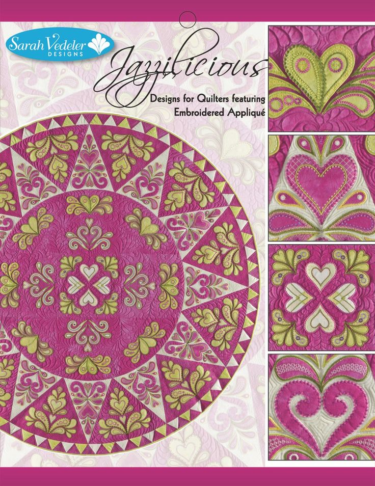 Jazzilicious Embroidery Designs Cd For Go By Sarah