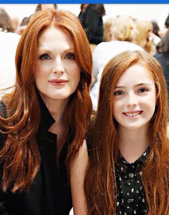 Motherhood beauty Julianne & Liv