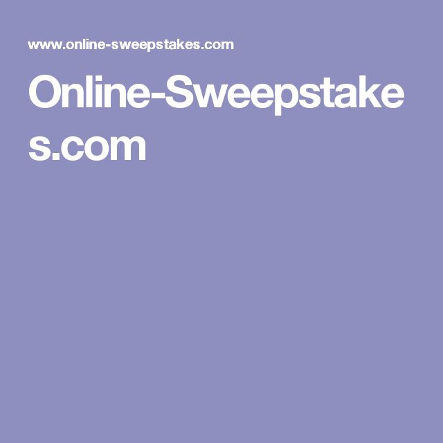 Online-Sweepstakes.com