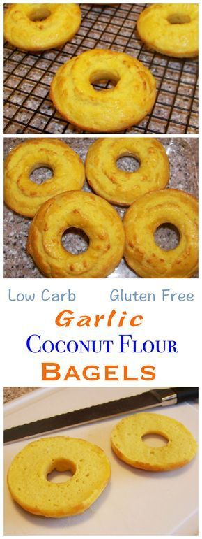Low carb foods can get expensive. Making these gluten free coconut flour bagels at home is much cheaper than buying pre-made ones. They taste delicious too! LCHF Keto Banting Bread Recipe