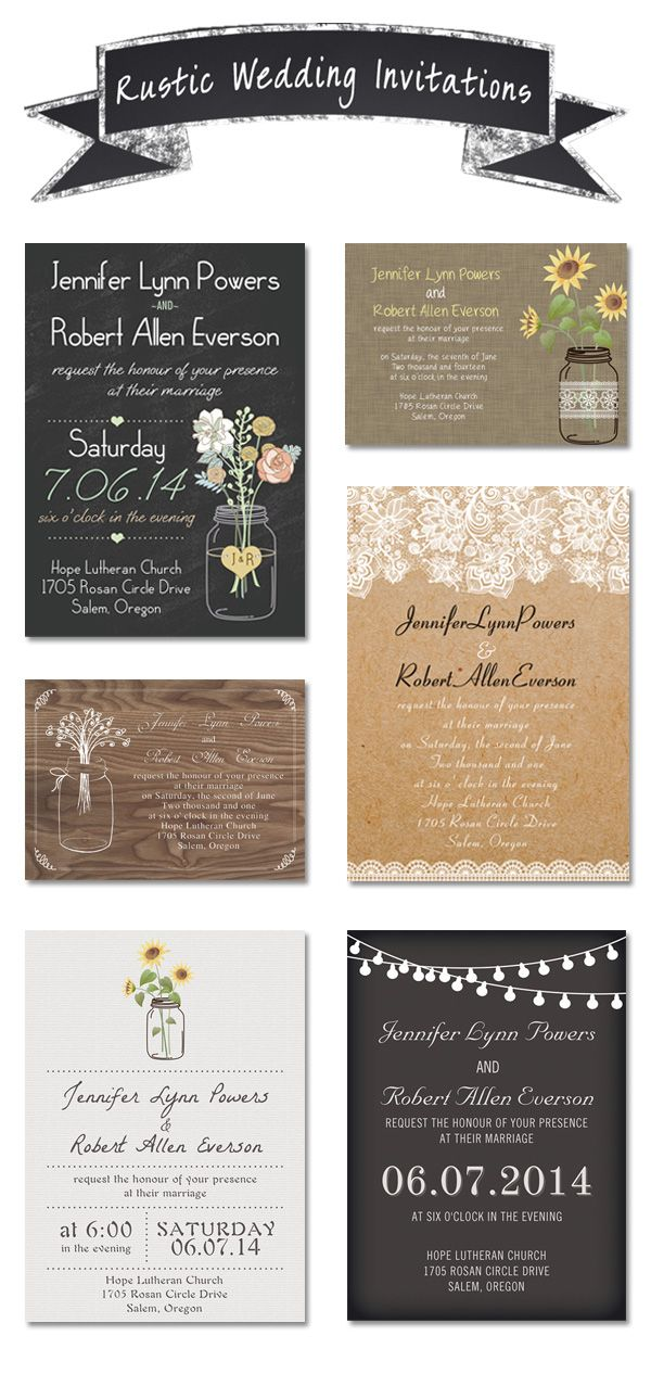 168 best rustic wedding invitations images on pinterest wedding cheap and rustic wedding invitations as low as 094 filmwisefo