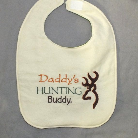 Hey, I found this really awesome Etsy listing at https://www.etsy.com/listing/157126329/hunting-bib-baby-boy-bib-camo-baby-boy