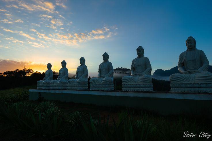 Motivo para acordar cedo numero 2. Mosteiro Zen Budista -  Ibiracu/ES Brasil