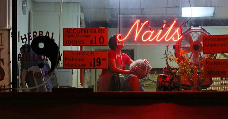 The Price of Nice Nails Manicurists are routinely underpaid and exploited, and endure ethnic bias and other abuse, The New York Times has found. By SARAH MASLIN NIRMAY 7, 2015
