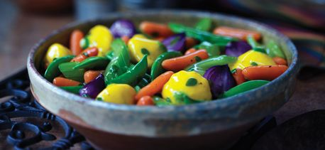 Savoury Glazed Vegetables