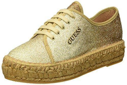 Oferta: 110€. Comprar Ofertas de Guess Glitter Fabric - Zapatillas de Material Sintético para mujer Dorado dorado 39 barato. ¡Mira las ofertas!