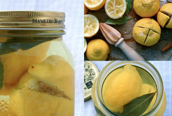 Preserved lemons - use with Lenanese Lemon Chicken
