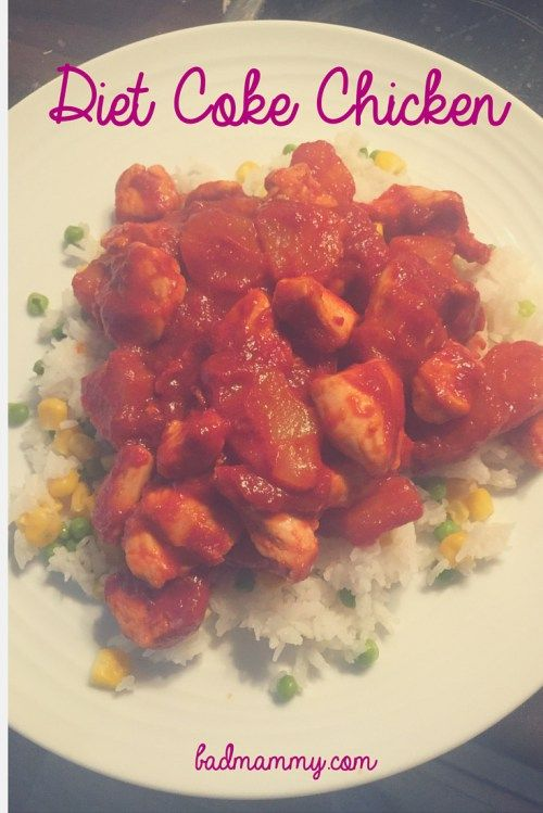 Diet Coke Chicken, delicious and sinless? Syn Free Recipe for Slimming World - Quick and Easy to make. BadMammy.com