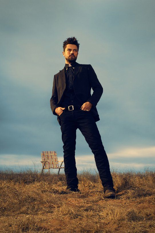 Preacher TV Series Dominic Cooper Image 2. Sad but true... It took him dressed as a preacher/priest to realize how sexy Dominic is. I guess I have a twisted mind....