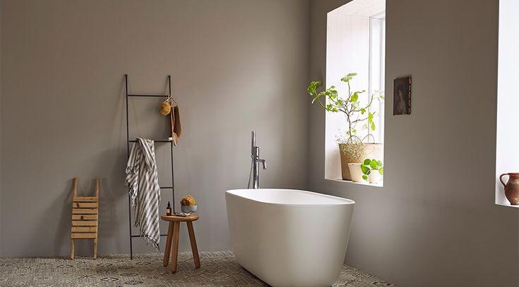 Hvorfor ikke bare male flisene på badet?