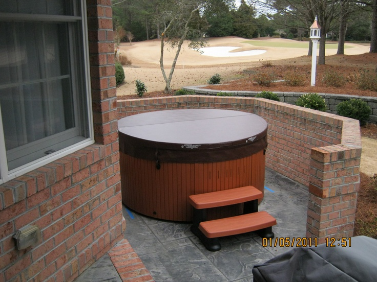 83 best images about hot tub installations on pinterest decks a beautiful and folk. Black Bedroom Furniture Sets. Home Design Ideas