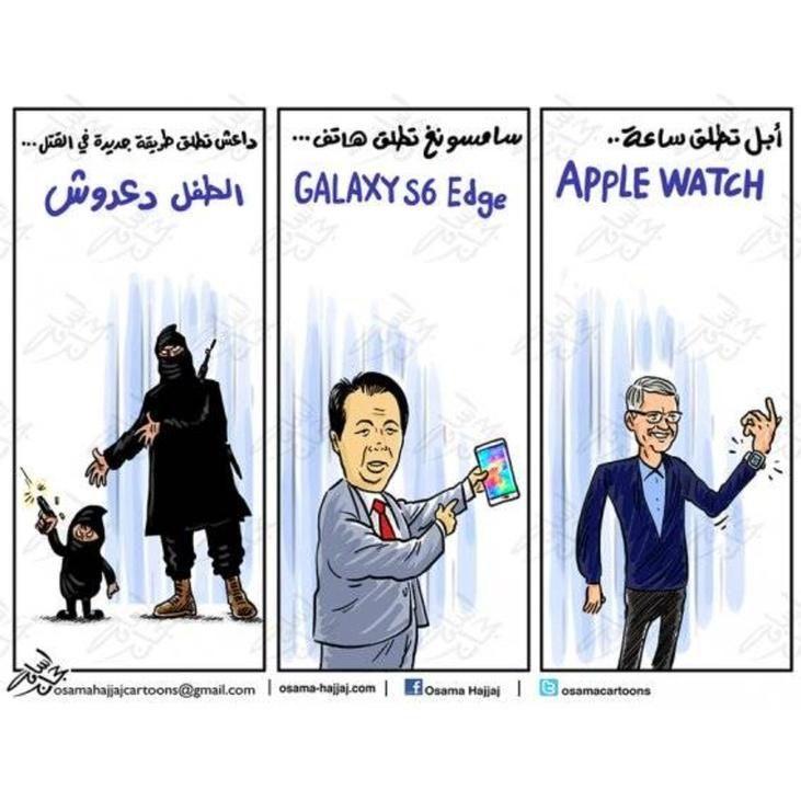كاريكاتير - أسامة حجاج (الأردن)  يوم الأربعاء 18 مارس 2015  ComicArabia.com  #كاريكاتير: