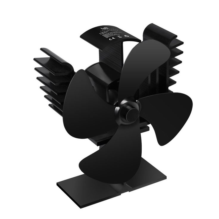 Heat Powered Eco Friendly 4 Blade Stove Fan for Wood Log Burner Fireplace Blower Fan *** Want to know more, click on the image. (This is an affiliate link and I receive a commission for the sales)