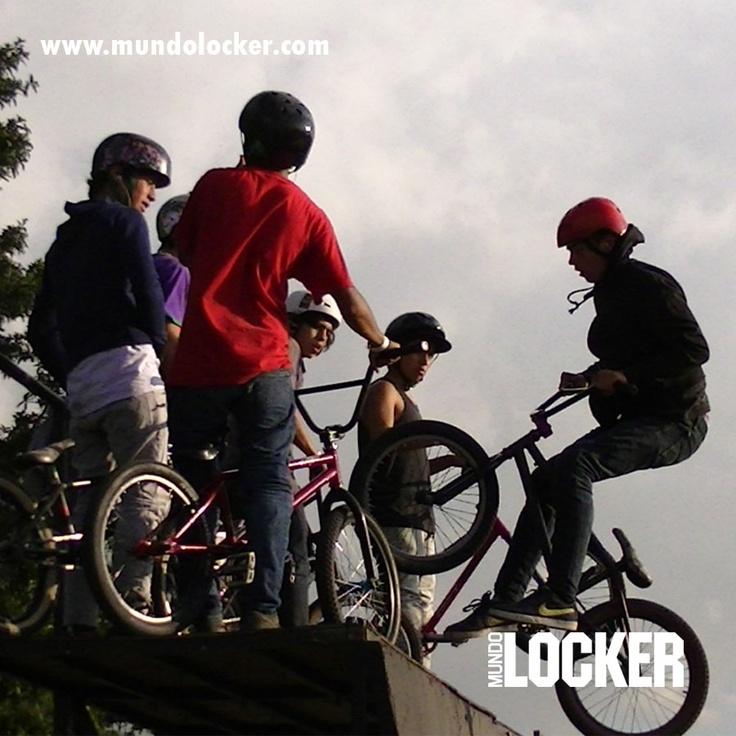 #BMX #Extremo #Biker #Rampa