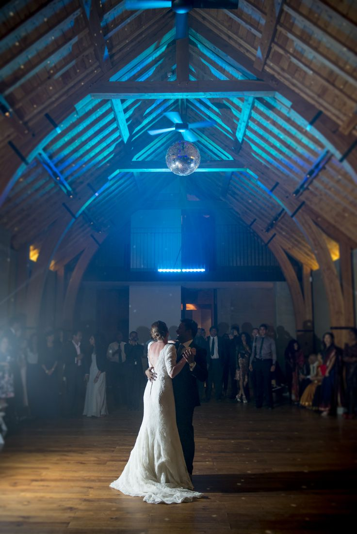 The happy couple's first dance at The Rippon Hall, Lake Wanaka.