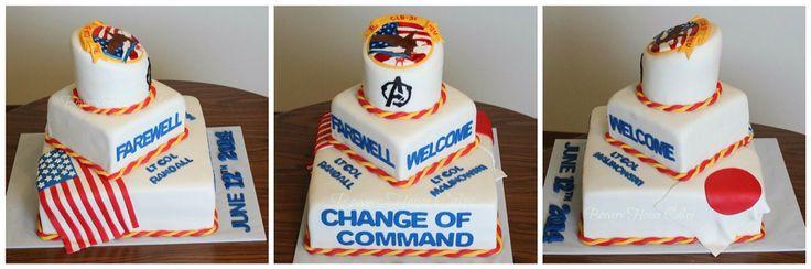 Change Of Command Cake Okinawa Change Of Command