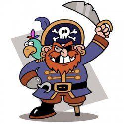 free printable pirate crafts