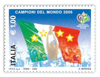 Italia Campione del Mondo di Calcio 2006 - Italy Football World Champion 2006