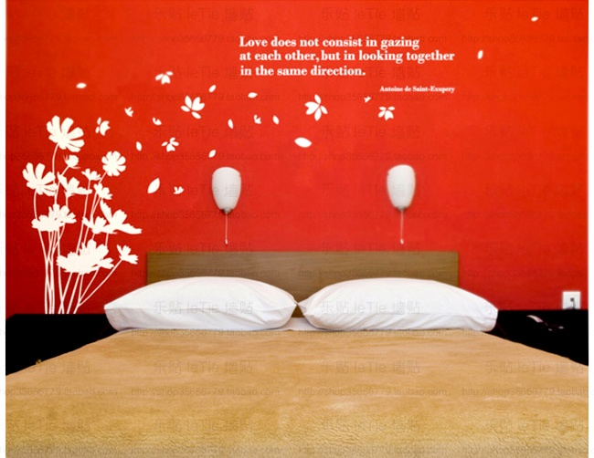 Dandelions blowing in the breeze vinyl wall decal sticker art