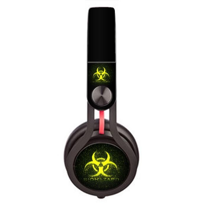 Bioahazrd design Skin decal for Monster Beats Mixr by Dr. Dre headphones