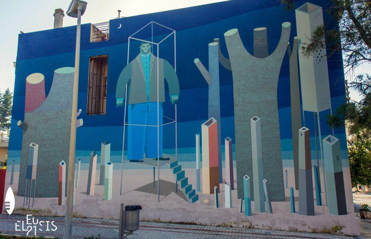 #Eleusis2021 #EUphoria #ECoC2021 #Eleusis #Ελευσίνα #streetart #graffiti #urbanart #visualart #mural © Spiros Prassas