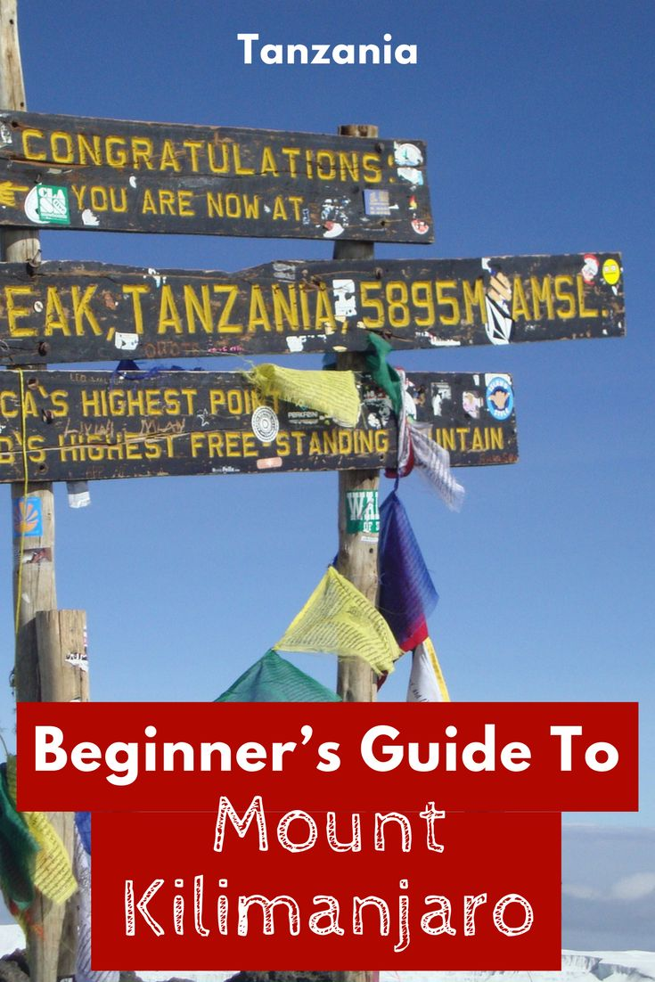 Climbing Kilimanjaro is on many adventurous traveller's bucket-list. Here is our Beginner's Guide To Mount Kilimanjaro. Don't miss it off your Africa bucket list. #trekkingafrica #backpackingafrica #travelafrica