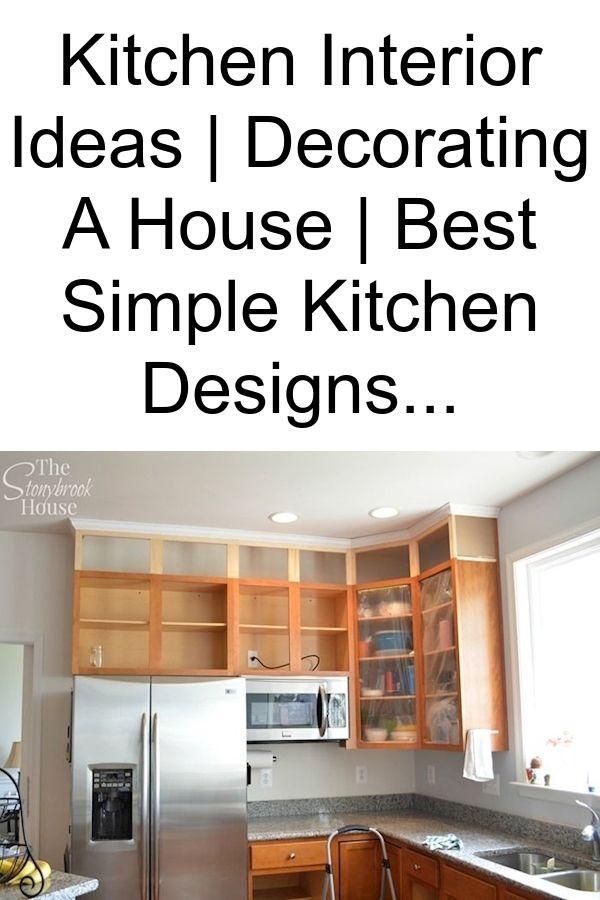 Small Kitchen Decorating Ideas Decorative Home Decor Affordable Kitchen Decor Simple Kitchen Design Simple Kitchen Kitchen Design