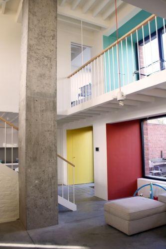 Tim Peeters Architecten - Een onverwacht licht en open rijhuis