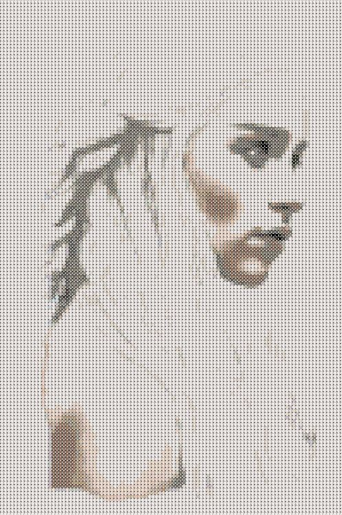 Game of thrones - khaleesi mother of dragons daenerys - cross stitch chart  Hey, I found this really awesome Etsy listing at https://www.etsy.com/listing/196698944/game-of-thrones-daenerys-khaleesi-mother