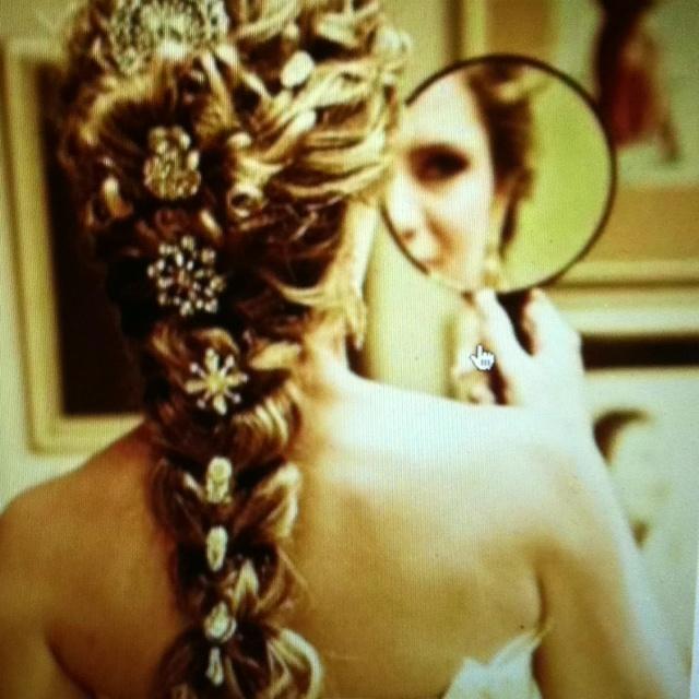 Love hair: French Braids, Weddinghair, Hairstyles, Wedding Hair, Long Hair, Beautiful, Hair Style, The Dresses, Wedding Day Hair