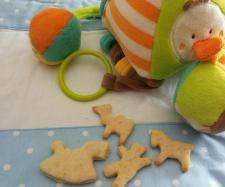 Rezept Kekse für Babys- zuckerfrei von bininanny - Rezept der Kategorie Baby-Beikost/Breie