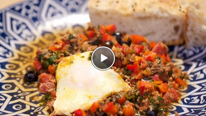 Berberse omelet - recept | 24Kitchen