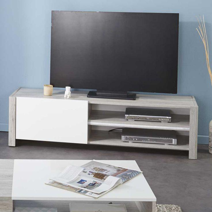 die besten 25 tv tisch wei ideen auf pinterest tv. Black Bedroom Furniture Sets. Home Design Ideas