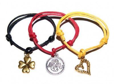 Bransoletki Sznurkowe Lucky Charms. Gruby Sznurek. Mix Kolorów i Wzorów #charms #bracelet #bransoletka