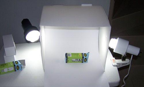 caja de luz casera