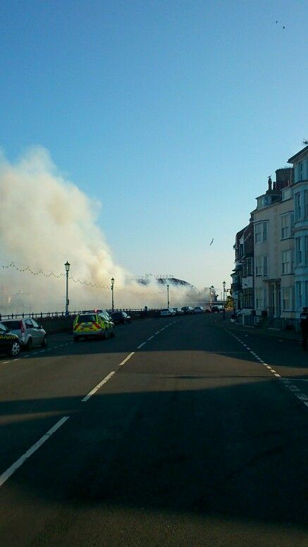 Fire fighting ..smokey.