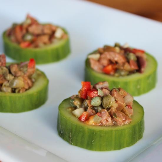 The 25+ best Cucumber cups ideas on Pinterest | Tuna cups ...