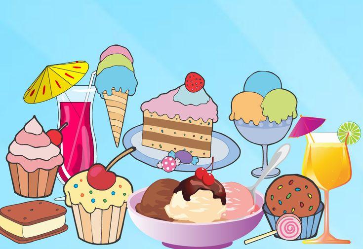 Les desserts? Miam-Miam! Approche sensorielle. Diverses activités