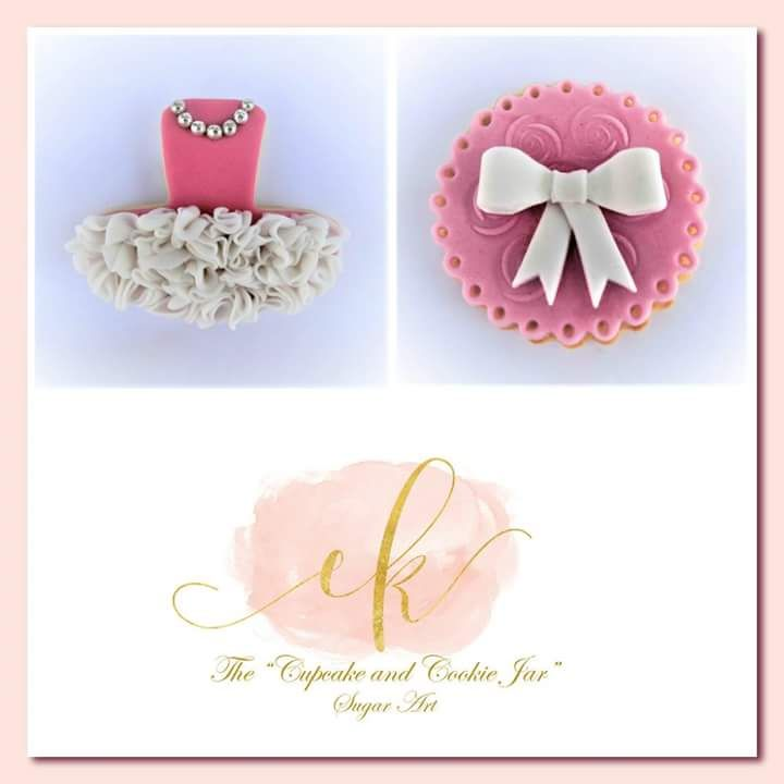 Cookie set perfect for a little ballerina!