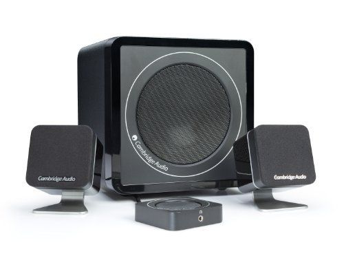 Minx M5 2.1 Multimedia Speaker System with USB Connection to Your Computer