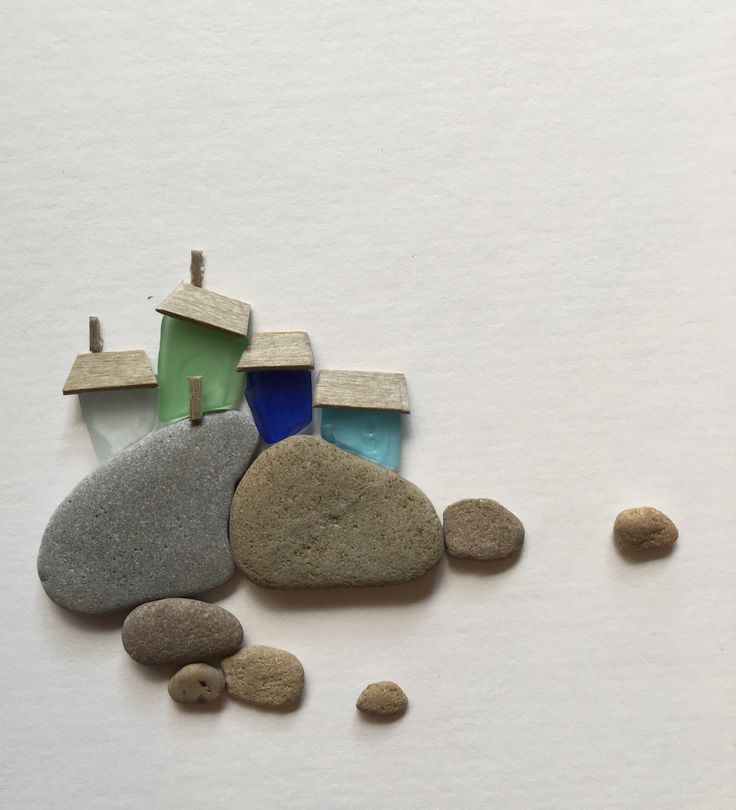 A personal favorite from my Etsy shop https://www.etsy.com/ca/listing/467110349/8-by-15-pebble-and-sea-glass-art-by