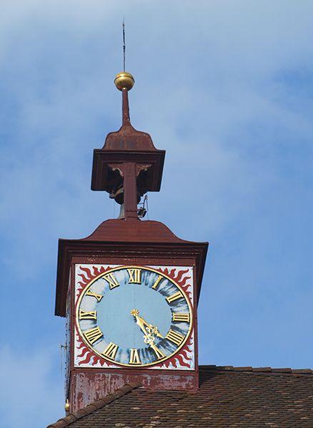 Vagacosmos, Suiza, reloj de torre