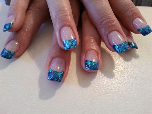 acrylic nail art decorate