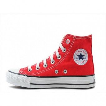 Converse Shoes Red Chuck Taylor All Star Classic Hi