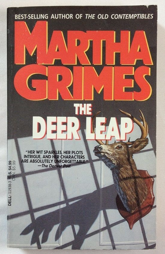 The Deer Leap by Martha Grimes (1986 - Paperback) Book #6 Richard Jury Series